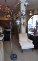 A chrome floor lamp - picture 1