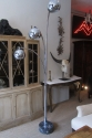 A chrome floor lamp - picture 2