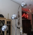 A chrome floor lamp - picture 3