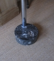 A chrome floor lamp - picture 4