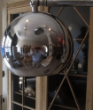 A chrome floor lamp - picture 5