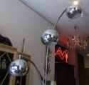 A chrome floor lamp - picture 6