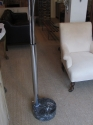 A chrome floor lamp - picture 7