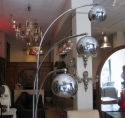 A chrome floor lamp - picture 8