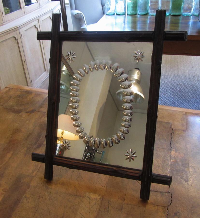 A black forest mirror