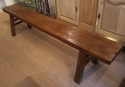An Elm Pig Bench - picture 1