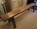 An Elm Pig Bench - picture 5