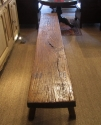 An Elm Pig Bench - picture 8