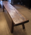 An Elm Pig Bench - picture 9