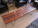 A Danish coffee table / Bench stool - picture 1