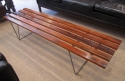 A Danish coffee table / Bench stool - picture 2
