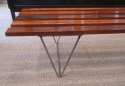 A Danish coffee table / Bench stool - picture 3