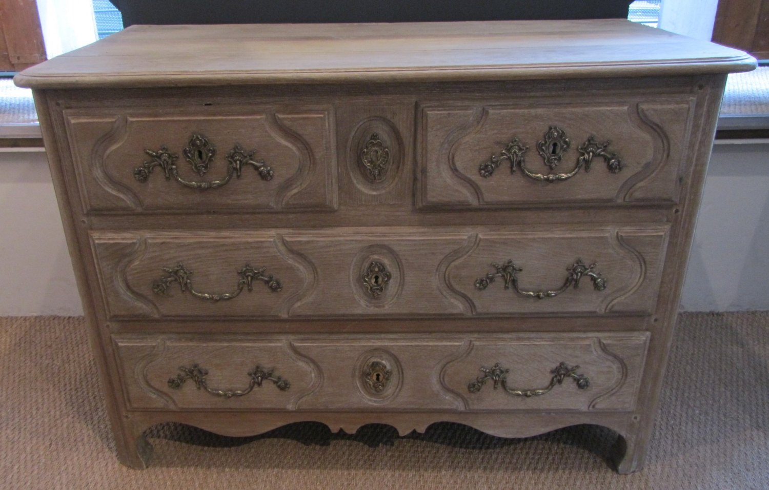 An 18thC French provincial commode