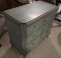 A Swedish painted chest of drawers - picture 5