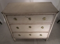 A Swedish painted chest of drawers - picture 6