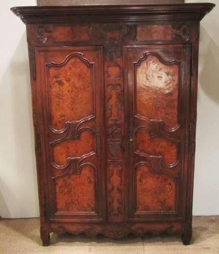 An 18thC marriage armoire