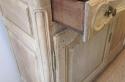 A bleached oak enfilade buffet - picture 4