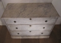 A painted three drawer commode - picture 2