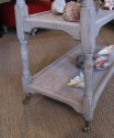 A bleached oak trolley/buffet - picture 5