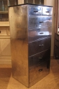 An Aluminium tall chest of drawers - picture 2