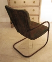 A pair of iron cafe chairs - picture 4