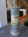 A Maiolica column lamp - picture 2