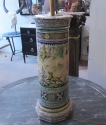 A Maiolica column lamp - picture 3
