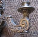 Four silver gilt wall lights - picture 3