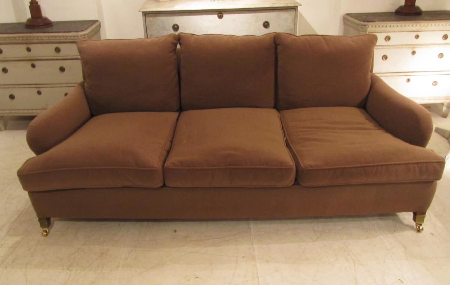 A three seater sofa