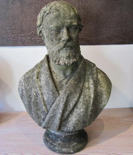 A marble bust
