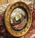 A regency convex mirror - picture 1