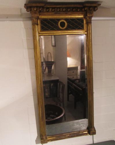 A regency pier mirror