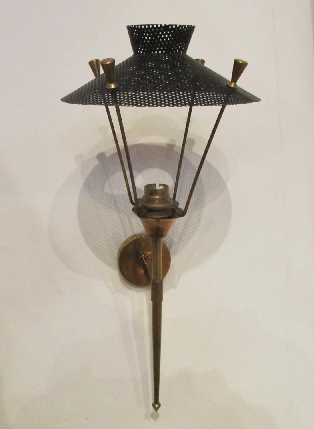 A pair of wall lights
