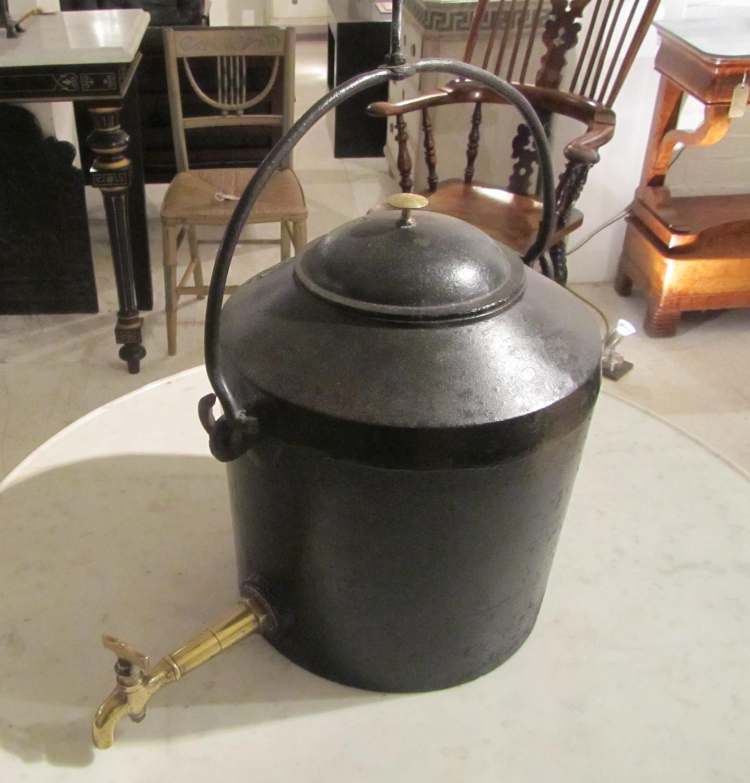 A gypsy tea urn
