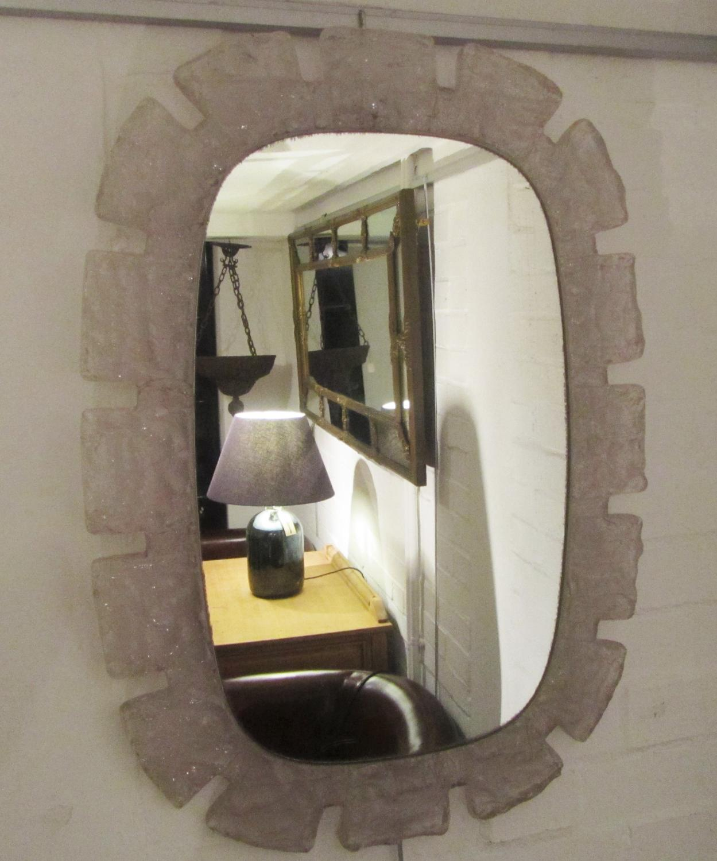 A mid 20thC mirror