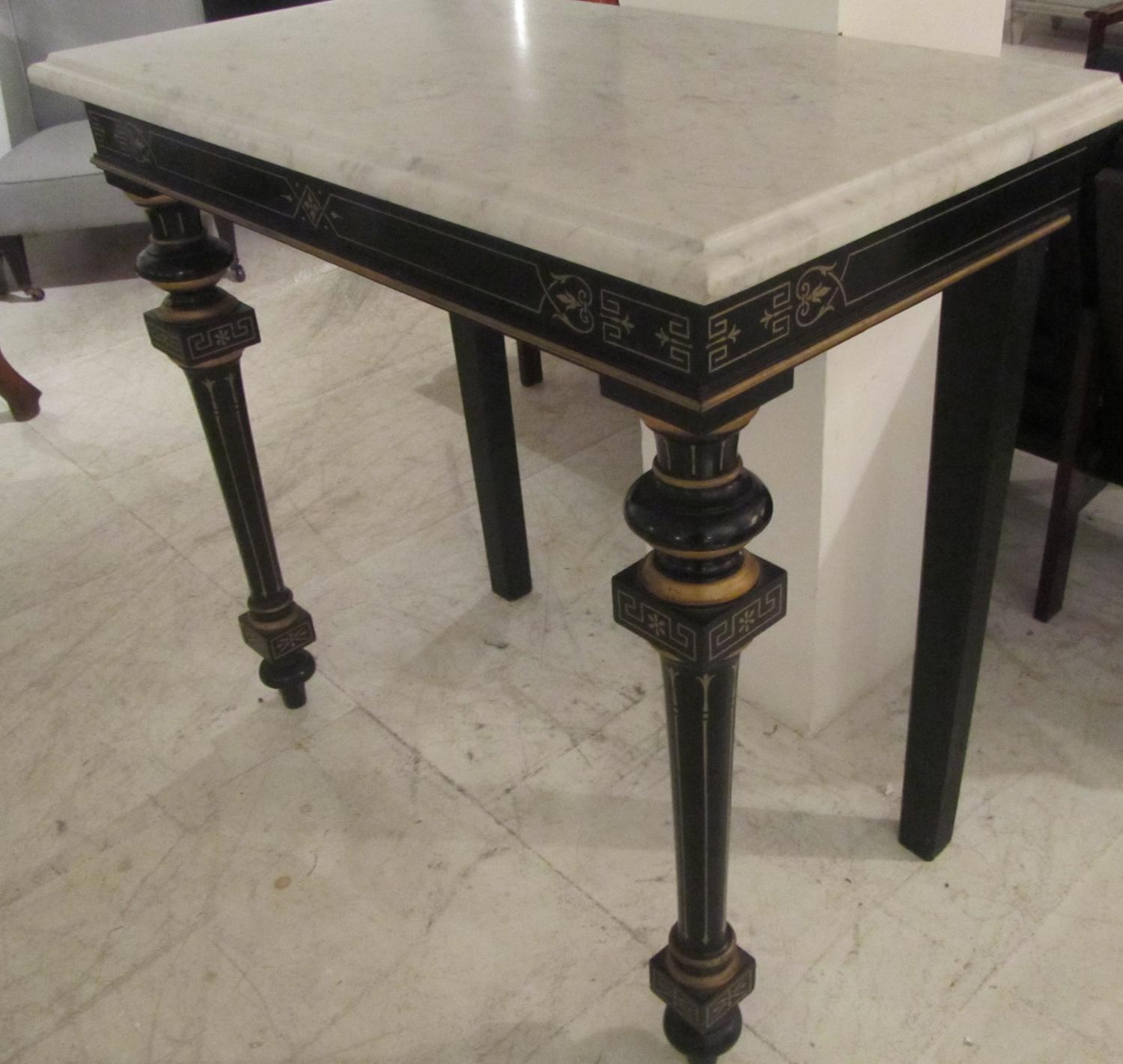 An Aesthetic Movement Console Table In Furniture