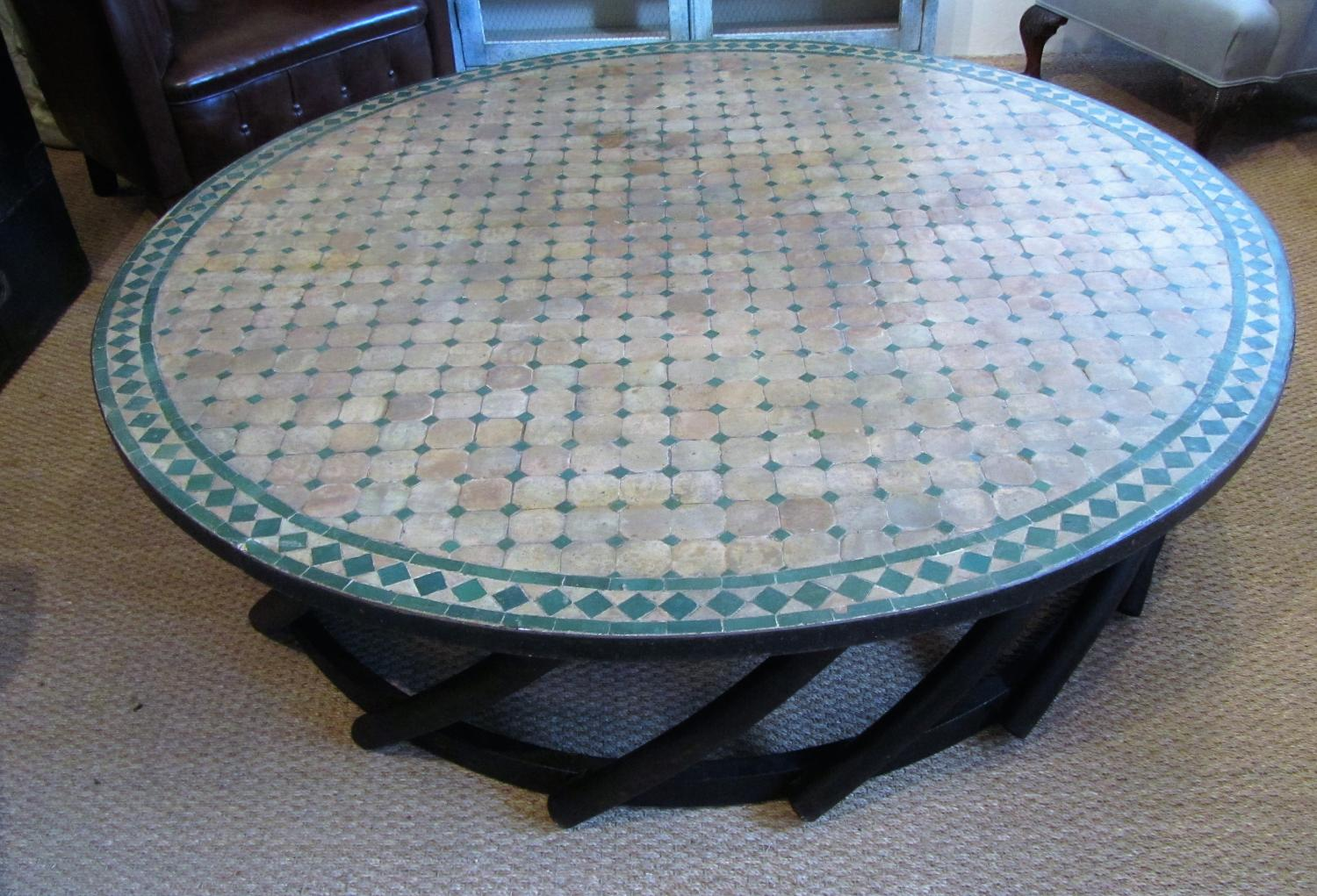A large Garden/conservatory coffee table