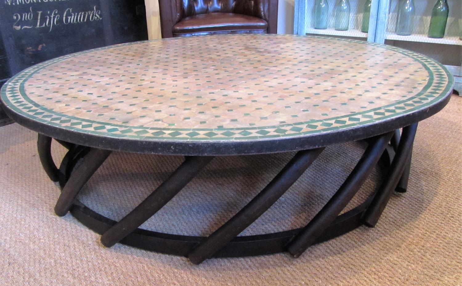 A large gardenconservatory coffee table in garden and architectural a large gardenconservatory coffee table picture 2 geotapseo Image collections