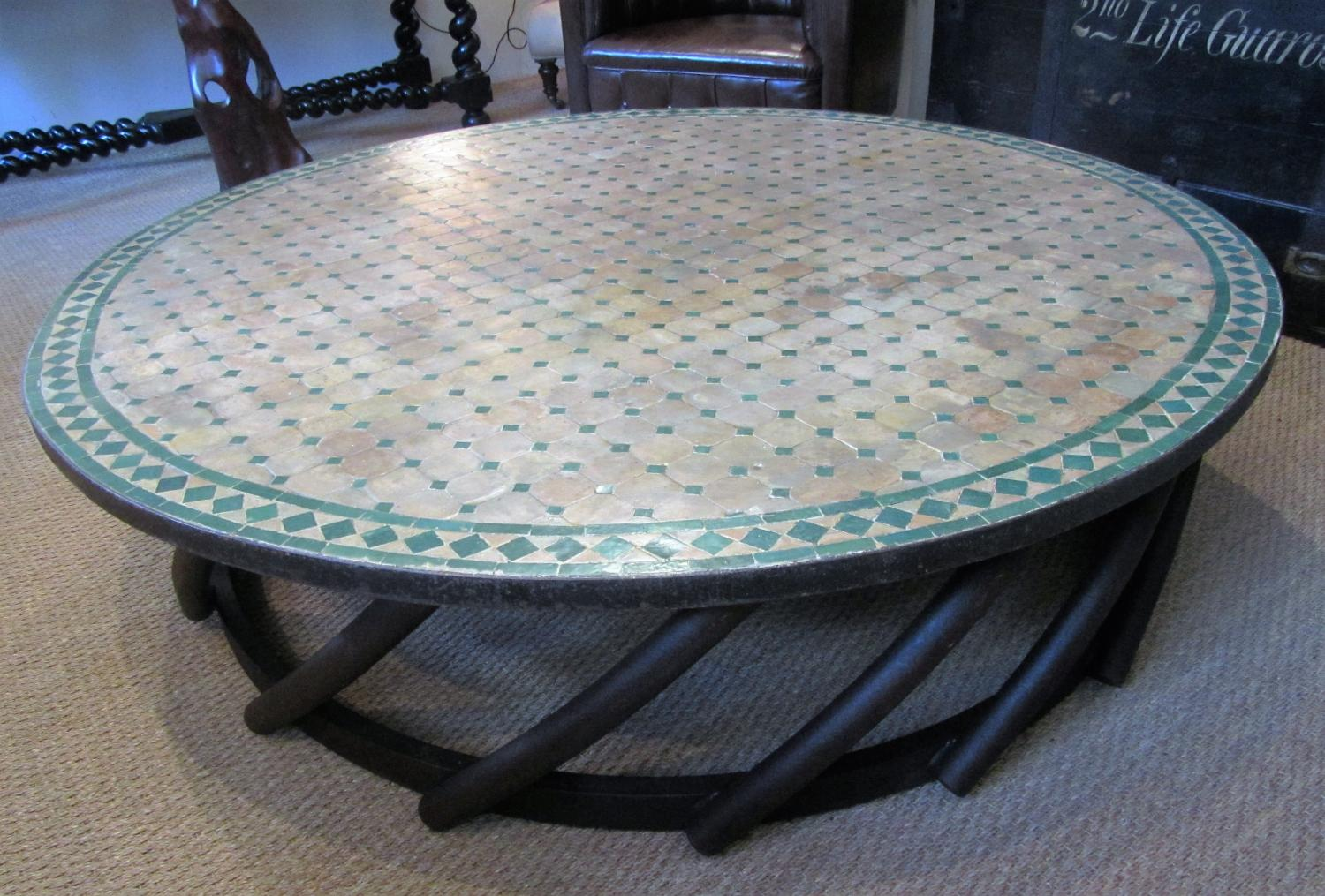 A large gardenconservatory coffee table in garden and architectural a large gardenconservatory coffee table picture 5 geotapseo Image collections