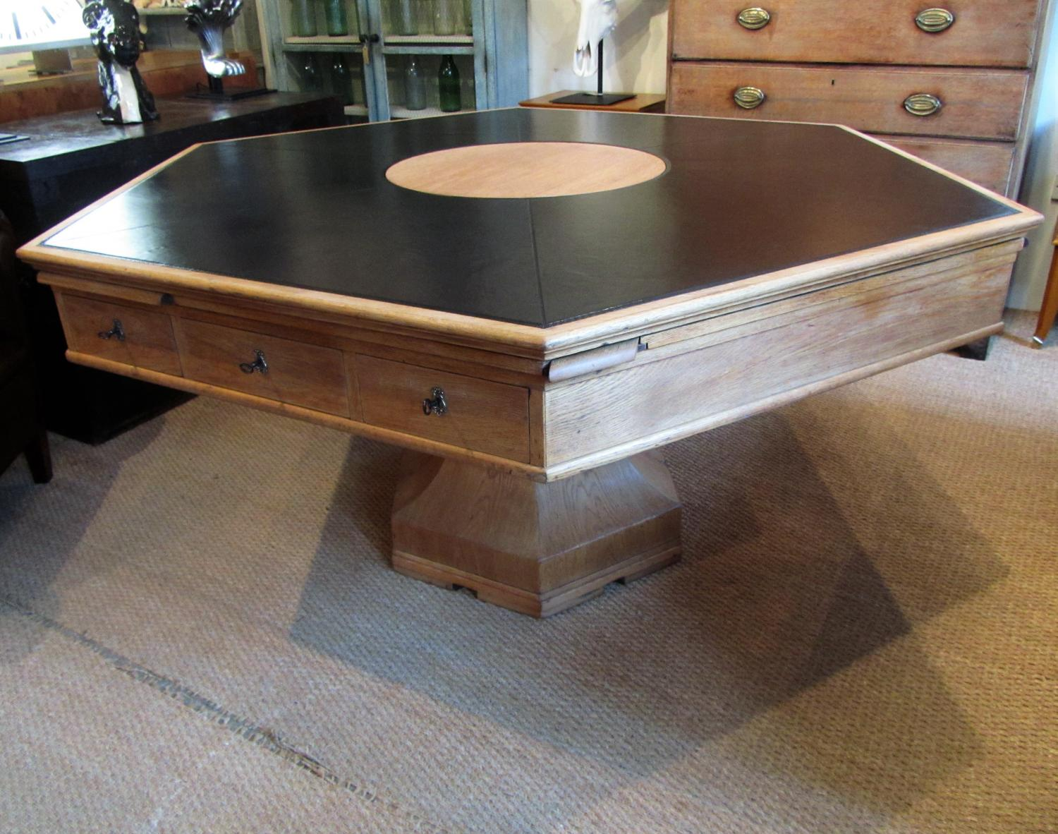A Huge Rent / drum table