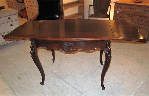 A rose wood sofa table