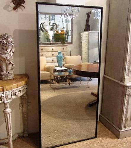 An Edwardian outfitters mirror