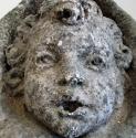 A stone cherub fountain head - picture 4