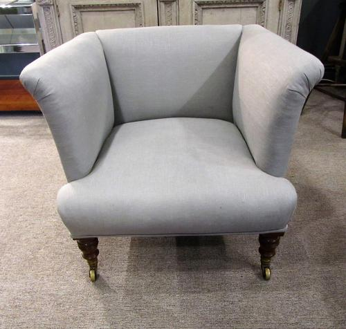 A Howard & Sons London single armchair