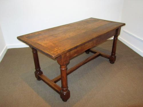 An Oak 19thC jointed refectory table