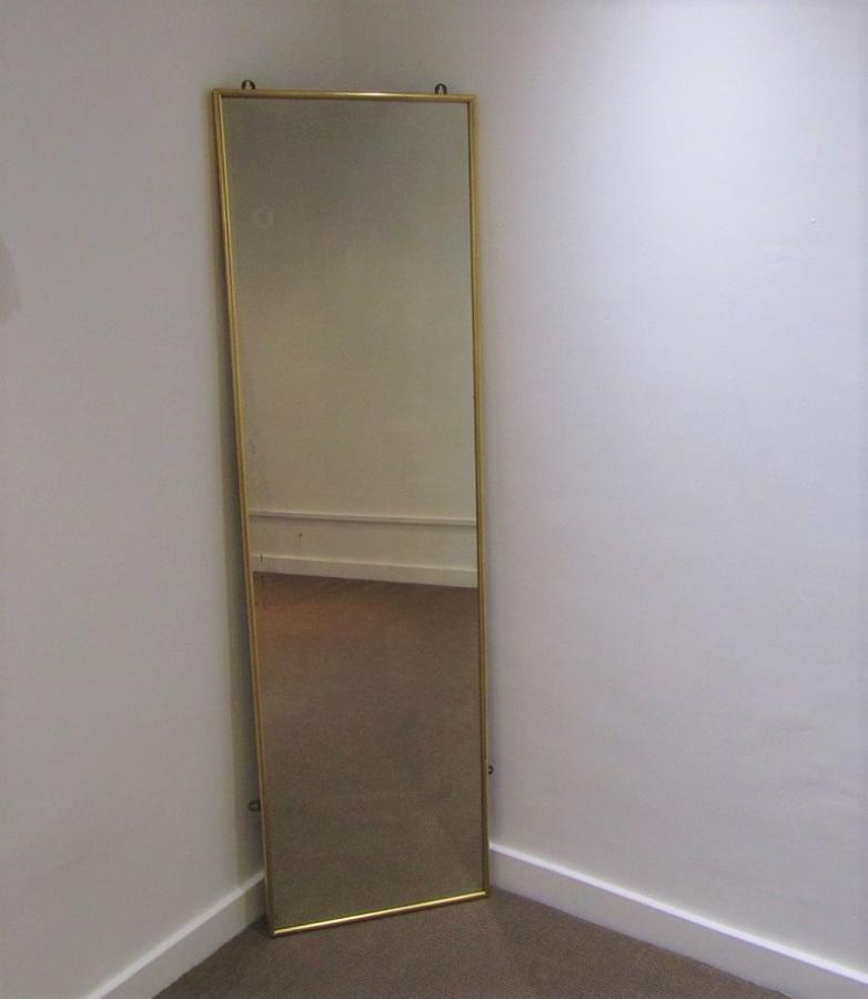 A Gilt framed pier mirror