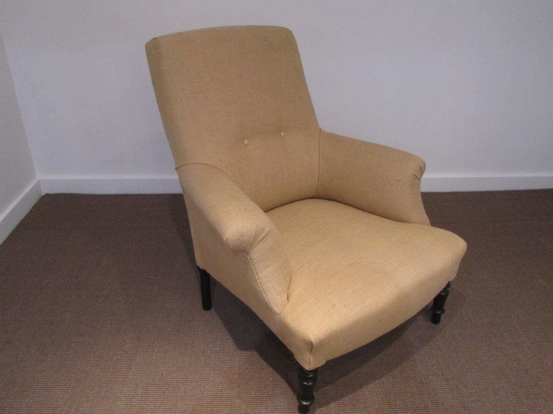 A single Napoleon III armchair