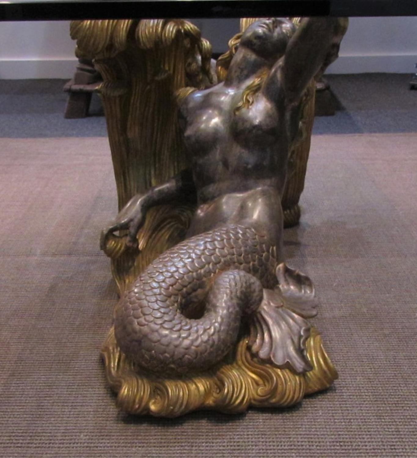 A mid century mermaid coffee table in Furniture