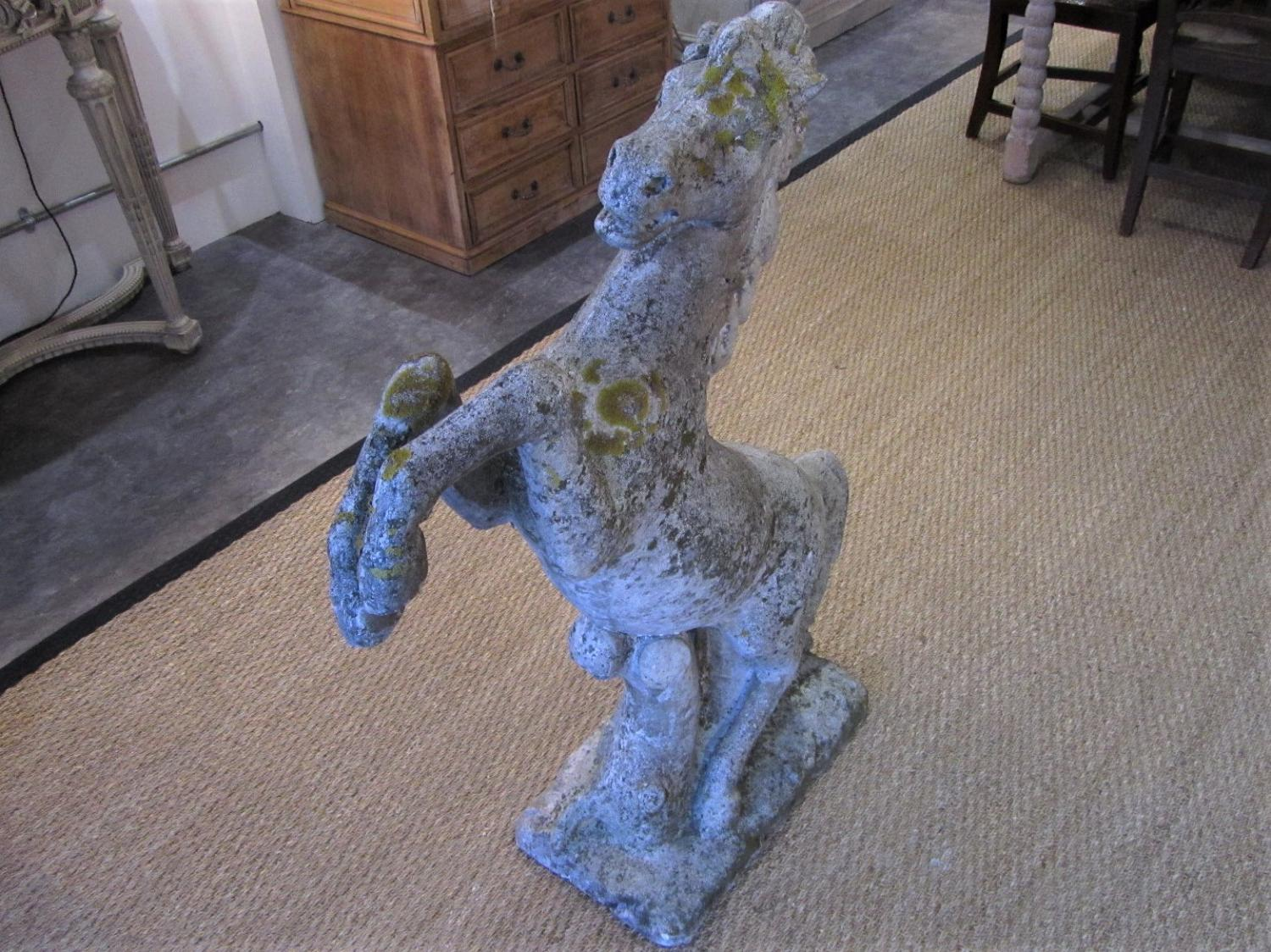 A Prancing Horse Garden Statue   Picture 1 ...