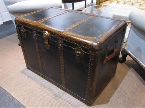 A Murphy's of st Louis steamer trunk